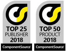 Component Source TOP 25 Publisher and TOP 50 Product 2018